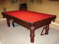 Canadian Billiards 4x8 pool table