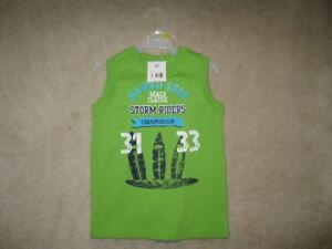 Boys Tank Top And Shorts Set Size 4T (Brand New!)