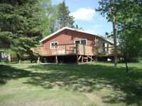 2-3 bedroom waterfront cabins 1 1/2 hrs NE of Winnipeg