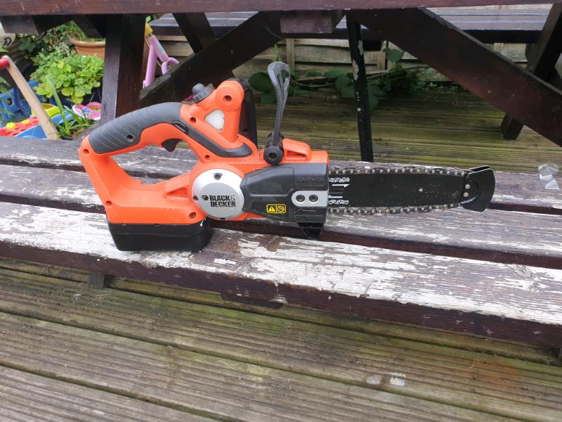 Black & Decker 18v battery operated chainsaw | in Norwich, Norfolk | Gumtree