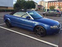 A4 CABRIOLET METALLIC BLUE