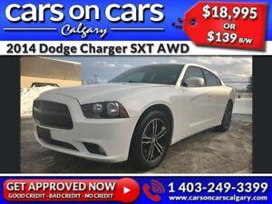 2014 Dodge Charger SXT AWD w/Heated Seats, Sunroof, Beats Audio
