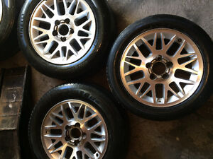 Set rims 17 with tires for Acura BMW Buick Cadillac GMC Chevrole