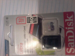 32gb brand new memory card