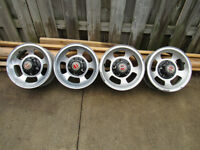 Ford Pickup Truck Aluminum slotted Rims
