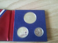 USA Silver Bicentennial sets. Proof and UNC
