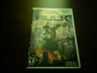 The Incredible Hulk video game for Wii GOOD CONDITION