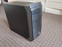 BRAND NEW Gaming PC Medion Ezazer P4407D i7 8GB 1TB GTX1050TI - Black.