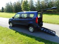 2016 16 Fiat Doblo 1.4 Petrol Only 8K WHEELCHAIR ACCESSIBLE ADAPTED VEHICLE WAV
