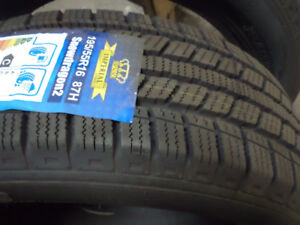 2-195/55R16 Imperial Snowdragon winter tires new, $35.00 each