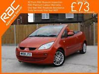 2008 Mitsubishi Colt 1.5 CZC2 5 Speed Convertible Electric Hard Top Air Conditio
