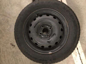 New winter tires and mounted rims 175/65R14 (set of 4)