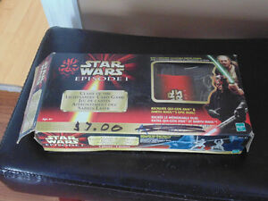 Star Wars clash of the Light sabers card game