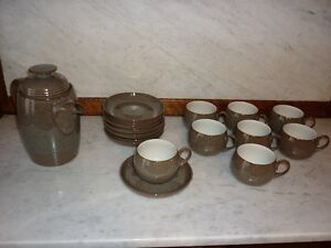 Denby Stoneware - Coffee Set
