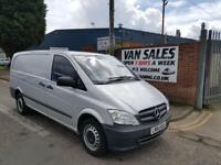 Mercedes-Benz Vito 2.1CDI 113 ( EU5 ) - Long 113CDI Manual Diesel Silver Van