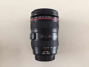 Canon 24-105mm F4 IS L USM Lens