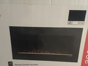 Brand new contemporary wall mount electric fireplace