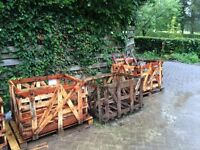 Firewood Pallets must be collected by thurs 8th