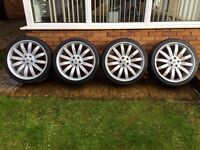 """Range Rover 22"""" Overfinch Tiger Style Alloys"""