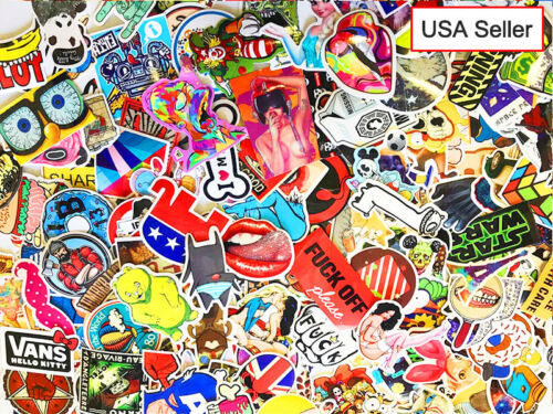 300 pcs / lot Sticker Bomb Decal Vinyl Roll Car Skate Skateboard Laptop Luggage