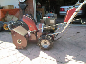 John Snow says Winter is coming. 24 Inch Snowblower for sale