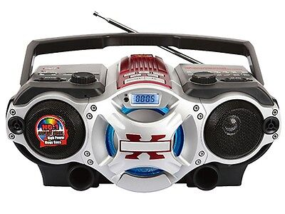 Supersonic SC-1495BT Portable MP3 Audio Player boombox +Bluetooth +USB/SD/AUX