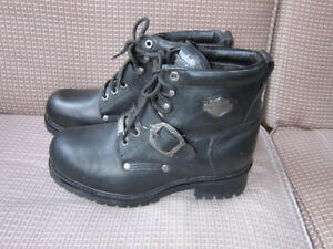 HARLEY-DAVIDSON MOTORCYCLE BOOTS WOMENS SIZE 8.5