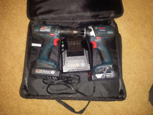 Bosch Drill and Impact Driver Combo