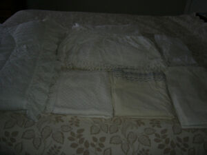 Double Bed Linen/Bedding Covers Lot