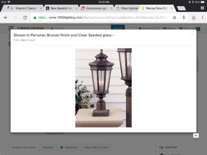 Murray Feiss OL2907 Castille Light Outdoor Post