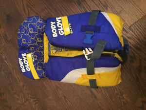 Body Glove infant PFD lifejacket good for 20-30lbs.  Used, good