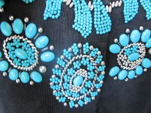 Jewelry that you wear-beaded sweater by Michael Simon Peterborough Peterborough Area image 2