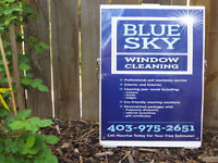 Blue Sky Window and Eaves Trough Cleaning