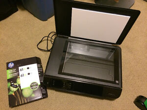 HP Envy 4500 Printer and Scanner with 2 ink cartridges incl.