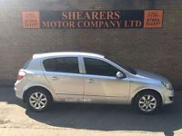 + 2005 NEW SHAPE ASTRA WITH ONLY 50 K GENUINE MILES + MOT FEB 17 £1690 +