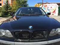 2004 BMW 3-Series 325xi AWD Black