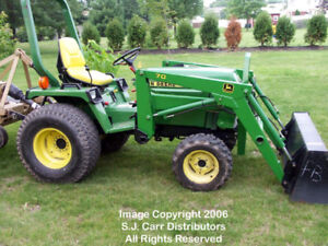 WANTED ! John deere 755 front end loader attachment !