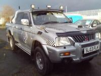 2003 Mitsubishi L200 Double Cab TD Warrior 4WD 113Bhp 4 door Pick Up