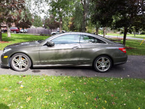 Attractive 2013 Mercedes E350 AMG Coupe in Excellent Condition