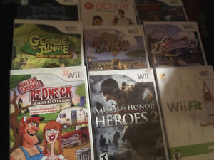 Wii game lot 60 games including rare titles