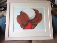 """Framed Limited Edition Doug Hyde """"Carry me Home"""""""