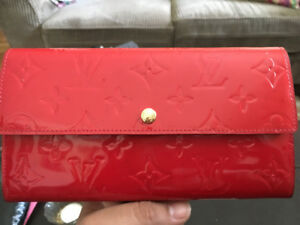 Red Paton Louis Vuitton Wallet