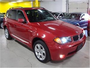 2004 BMW X3 3.0i SUV, Crossover, Premium sport 6speed