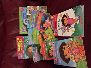 Assorted Dora books
