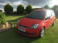 2007 57 Ford Fiesta 1.25 Petrol Zetec Climate Red 3 Door.
