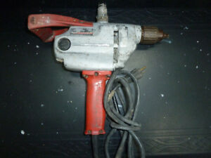 "DRILL,ELECTRIC,1/2"",MILWAUKEE"