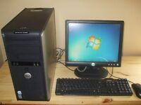 Complete Dell Pentium, D 3.4 GHz Dual Core Desktop,