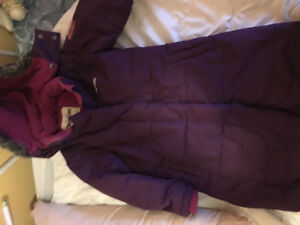 Oshkosh girls  size 6 3/4 length winter coat and snow pants