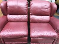 Manual Recliner 2 seater and recliner arm chair