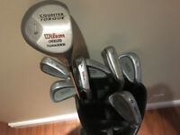 8 Piece Golf Club Set (Wilson and Tommy Armour)